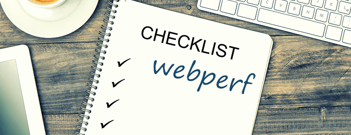 check-list webperf