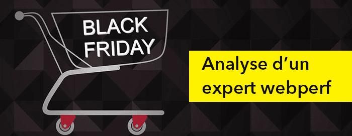 Analyse web performance Black Friday
