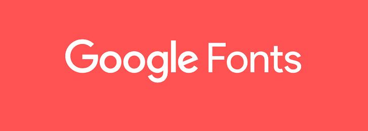 Google font webperf