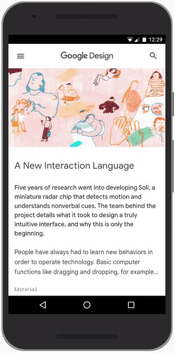 Core Web Vitals - Largest Contentful Paint : UI design Google